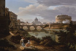 Castle St. Angelo and the Tiber